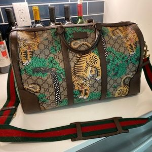 Limited Edition Gucci Travel / Duffle Bag